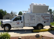 Truck image for Professional Duct Cleaners in Howell MI